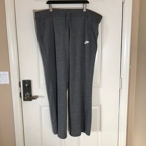 NWT Nike Standard Fit Sweatpants Grey